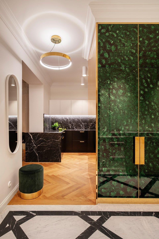 Grand Residence 21 Helsinki Emerald apartment • Photography © Hanna Połczyńska / kroniki.studio