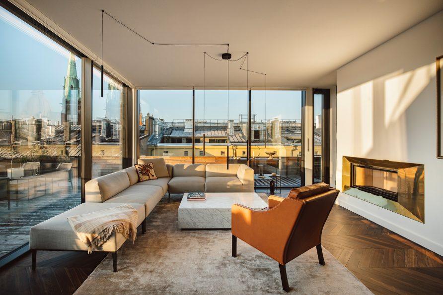 Grand Residence 21 Helsinki Penthouse • Photography © Hanna Połczyńska / kroniki.studio