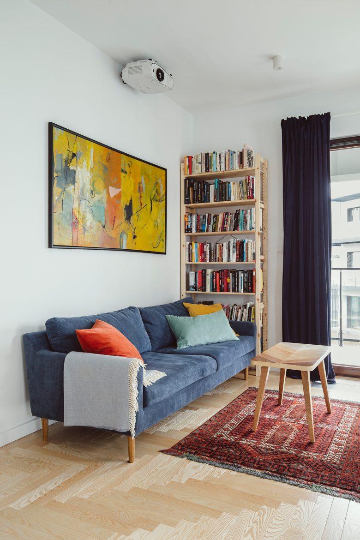 apartment with a vintage spirit • Photography © Hanna Połczyńska / kroniki.studio